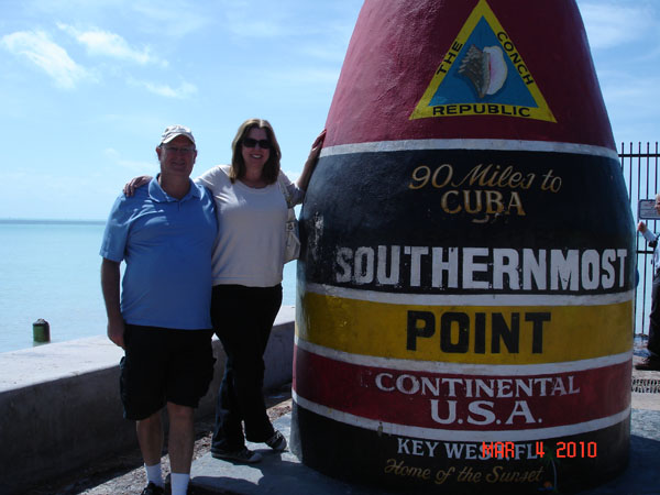 Southern Most Point in the Continental US