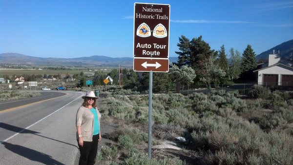 Calif and Pony Express Trail